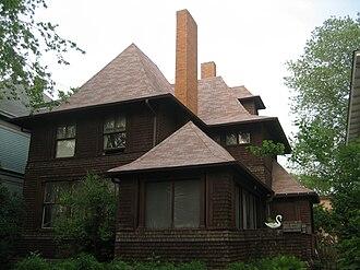 George W. Smith House (Oak Park, Illinois) - Image: Oak Park Il Smith House 1