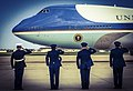 Obama departs JBA for 50th state visit 150507-F-WU507-032.jpg
