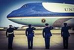 Obama departs JBA for 50th state visit 150507-F-WU507-032.jpg