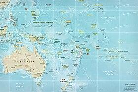 Australien Karta Lander.Oceanien Wikipedia