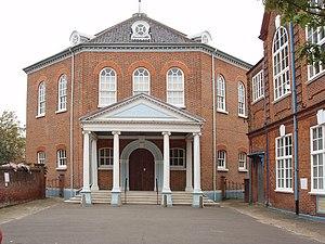Thomas Ivory - Octagon Unitarian Chapel, Norwich.
