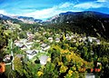 October Chalets Panorama Les Alpes Suisse Europe - Master Earth Photography 1988 High Wood - panoramio.jpg