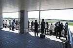 Odate Noshiro Airport pickup deck.jpg