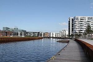 Port of Odense - Residential buildings in Odense Inner Harbour