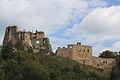 Odrzykoń, ruiny zamku Kamieniec (ze wzgórzem zamkowym), A-263.jpg