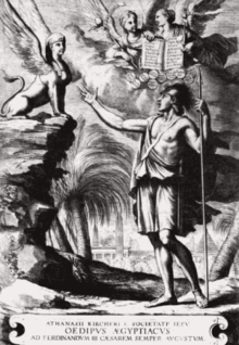 Kircher resource learn about share and discuss kircher at frontispiece to kirchers oedipus gyptiacus the sphinx confronted by kirchers learning admits he has solved her riddle fandeluxe Image collections