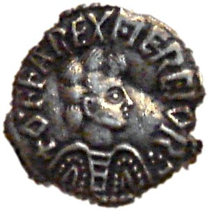 Offa of Mercia - Image: Offa king of Mercia 757 796