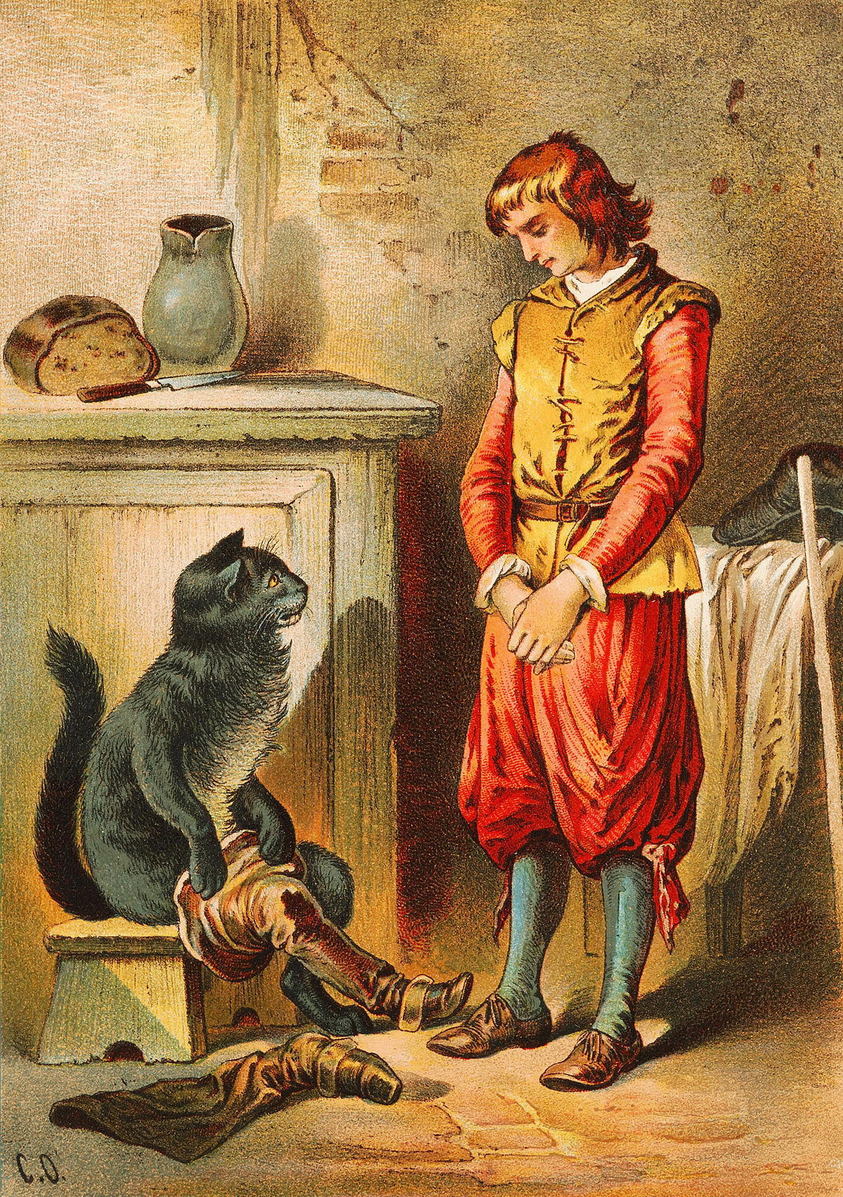 Главная мысль кот в сапогах шарль