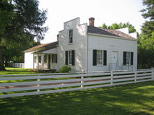 John Deere (inventor) - The John Deere House in Grand Detour, Illinois, built 1836