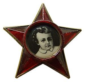 Little Octobrists - badge with older design
