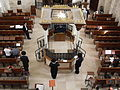 Old Jerusalem Hurva Synagogue Bimah.jpg