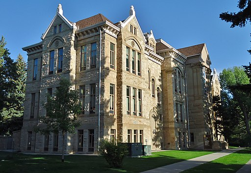 Old Main at University of Wyoming