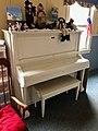 Old Player Piano, Allison Fellowship Hall Building, Sylva First United Methodist Church, Sylva, NC (45914757194).jpg