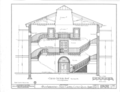 Old State Capitol Building, Markham and Center Streets, Little Rock, Pulaski County, AR HABS ARK,60-LIRO,1- (sheet 19 of 27).png