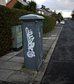 Old electricity box, Bangor - geograph.org.uk - 1619600.jpg