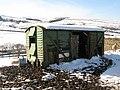 Old railway goods van at Farneyside (3) - geograph.org.uk - 1753725.jpg