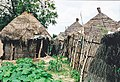 Old simpel primitive houses in Gambia of a village.jpg