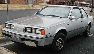 Oldsmobile Firenza - Image: Oldsmobile Firenza coupe 2