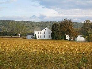Oley Township, Berks County, Pennsylvania - A farm in Oley Township