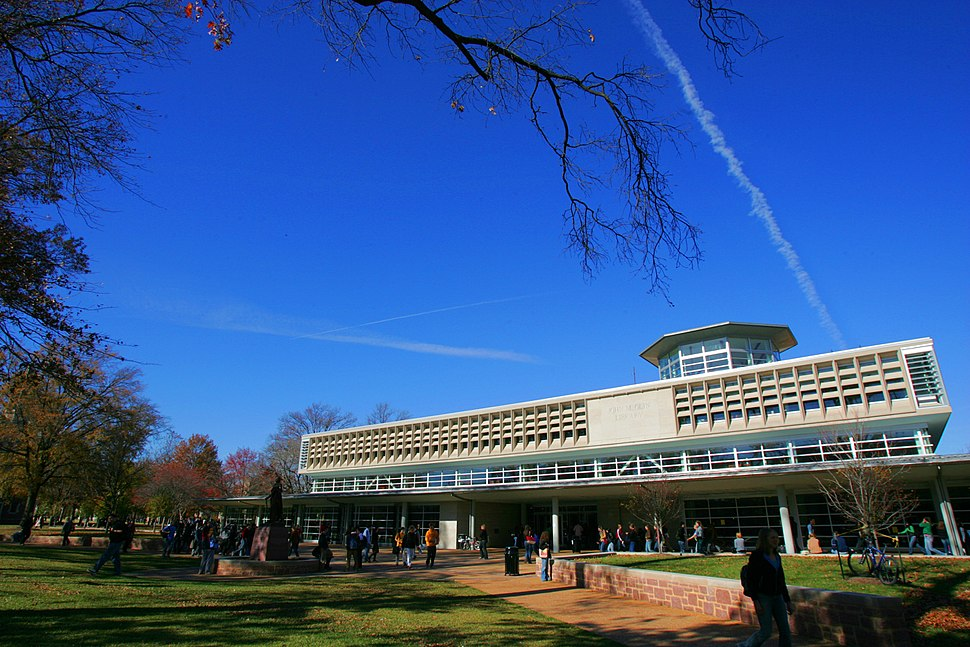 Olin Library wide