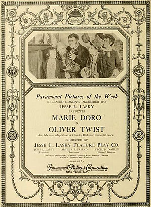 Oliver Twist (1916 film) - Image: Oliver Twist 1916