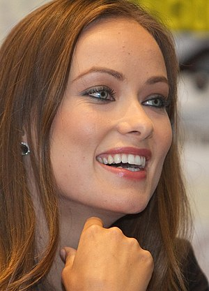 Olivia Wilde at a San Diego Comic-Con panel fo...