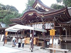 Ōmiwa Shrine - Hall of worship