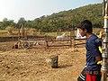 On the sets of Maharana Pratap.jpg