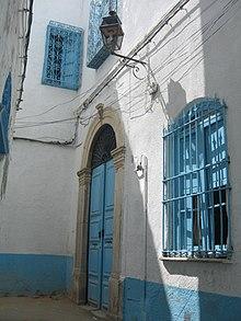 Onk EL Djmel Street in the medina of Tunis.jpg