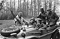 Oorlogswinter van Jan Terlouw verfilmd door de VARA Duitse soldaten tijdens o, Bestanddeelnr 927-8048.jpg