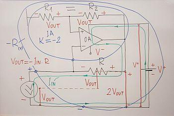 Circuit Idea/Negative Impedance Converter - Wikibooks, open