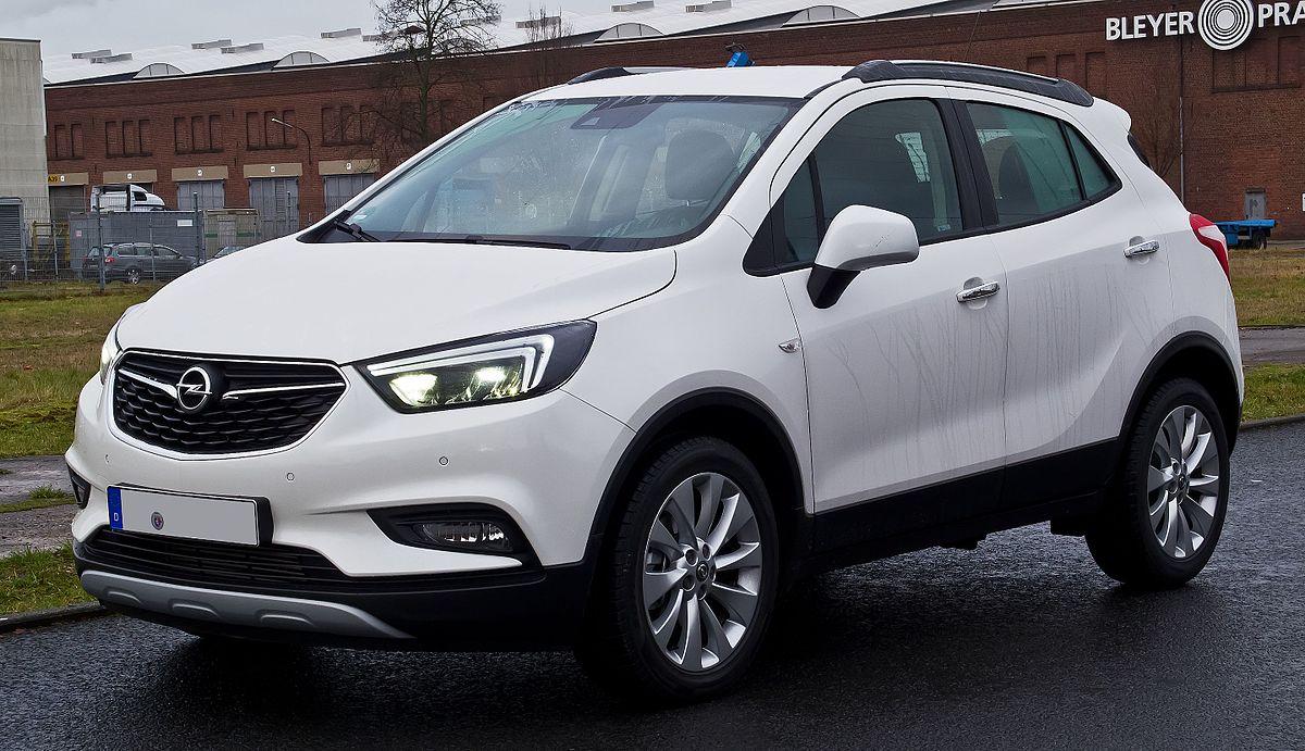 Opel Zafira Suv 2018 >> Opel Mokka – Wikipedia, wolna encyklopedia
