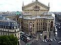 Opera Garnier from the roof terrace of Lafayette, Paris June 2011.jpg