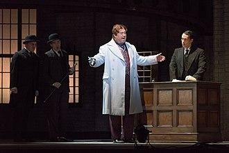 David Daniels (countertenor) - Daniels appears as Oscar Wilde in Oscar at Opera Philadelphia, 2015