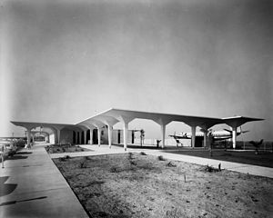John Wayne Airport - Orange County Airport terminal, circa 1967