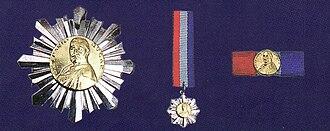 Slaven Bilić - Image: Order of DH Franjo Bučar