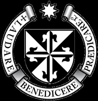 Sacapulas - Order of Preachers coat of arms.