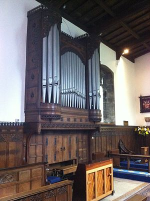 St Mary's Church, Attenborough - Organ of 1928