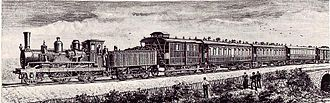 Orient Express - The first Orient Express in 1883