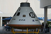 Orion capsule at KSC