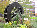 Ornamental water wheel at Silver Street, Bury (1).JPG