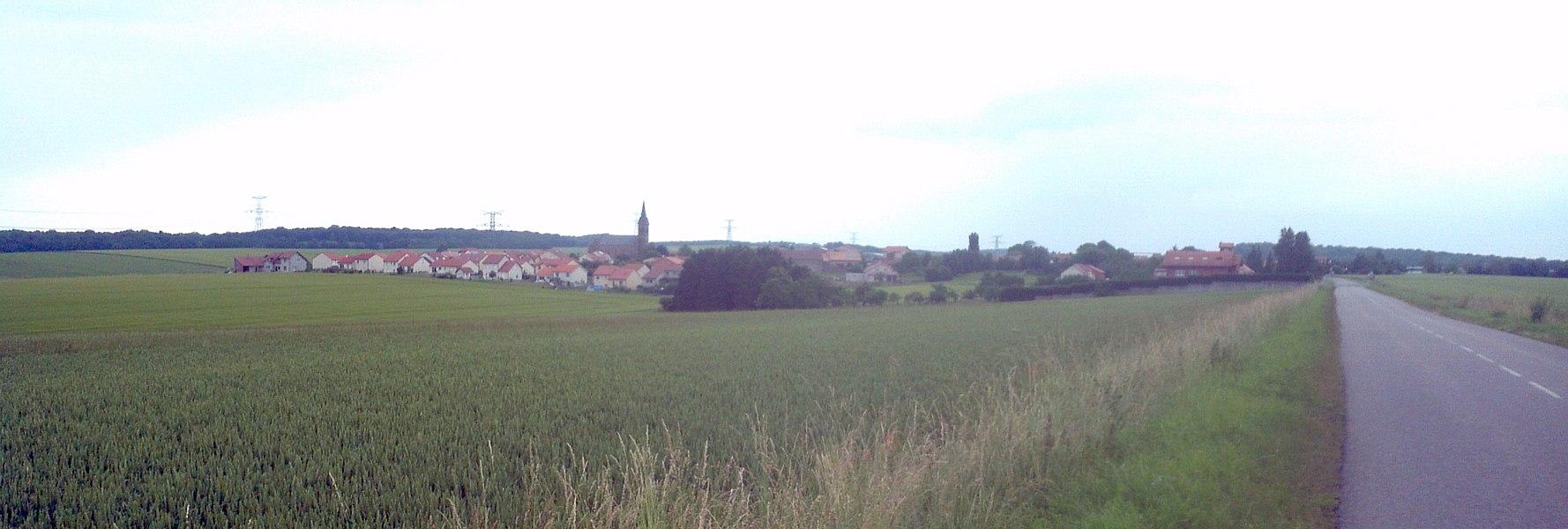 Ortsbild von Vry, Lothringen