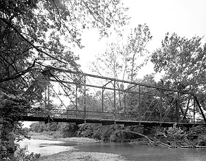 Osage Creek Bridge - HABS photo, 1988