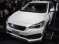 Osaka Motor Show 2019 (26) - Subaru IMPREZA SPORT 1.6i-S EyeSight (DBA-GT3) with STI SPORTS PARTS.jpg