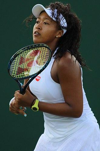 Naomi Osaka - Osaka at 2017 Wimbledon Championships