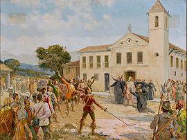 """Amador Bueno é aclamado """"Rei do Brasil"""" em 1641"""