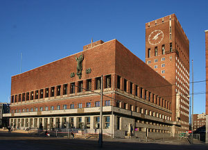 Arnstein Arneberg -  Oslo City Hall