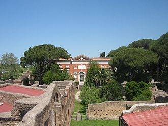 Museo Archeologico Ostiense - Image: Ostia Antica Museo