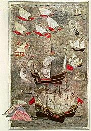 Ottoman fleet Indian Ocean 16th century