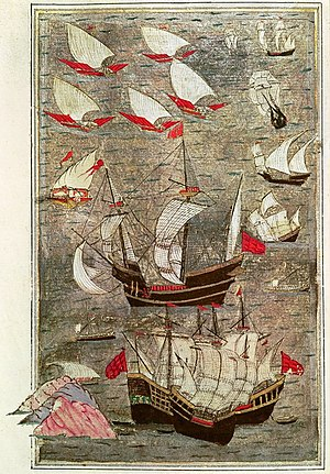 Siege of Diu - Ottoman fleet in the Indian Ocean in the 16th century